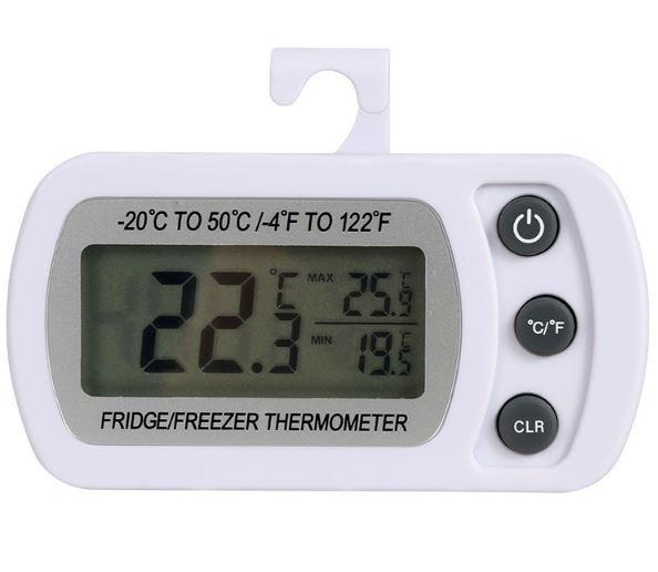 Термометр для холодильника DTH94, с крючком  и магнитом.