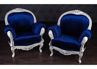 """Мягкое кресло в стиле Прованс """"Ника"""", под заказ от фабрики производителя. Резная мебель из дерева"""