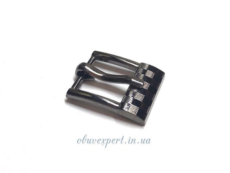 Пряжка  12 мм Чорний нікель