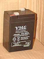 Аккумулятор 6V6Ah YME