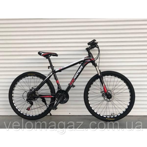 """Велосипед TopRider-611 24"""" красный горный детский"""