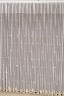 Турецкая гардина на окна с вышивкой, (обработка сторон + 40 грн), фото 1