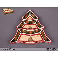 Менажница Christmas Collection 24х24 см Lefard 586-053