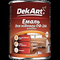Эмаль алкидная TM DekArt для пола пф-266 красно-коричневая 2.8 кг