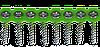 Саморез для гипсокартона на ленте, по дереву, 3,9х35, оцинк, PH2, упак. 1000 шт, Швеция