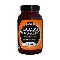 Витамины QNT Calcium Magnesium Zinc, 60 tabl