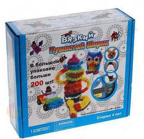 Конструктор-липучка Bunchems 200 предметов
