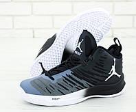 """Кроссовки мужские Nike Air Jordan High """"Серые высокие"""" р. 41,42,43"""