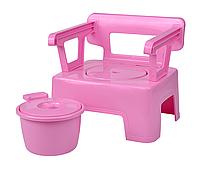 Стульчик горшок (детский) Розовый, фото 1