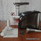Мясорубка Promotec PM 1055,электрическая с соковыжималкой 3200 Вт, фото 4