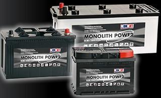 Аккумулятор MonBat Monolith Power MP180 12V 180Ah
