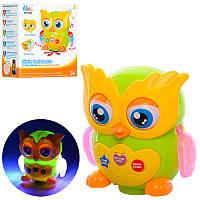Музыкальная детская игрушка Сова 3089