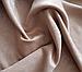 Комплект готовых штор из 2 портьер, бежевый цвет, турецкое качество, фото 2