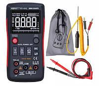 Мультиметр цифровой XE-608, автовыбор, True RMS, 9999 отсчетов, фото 1