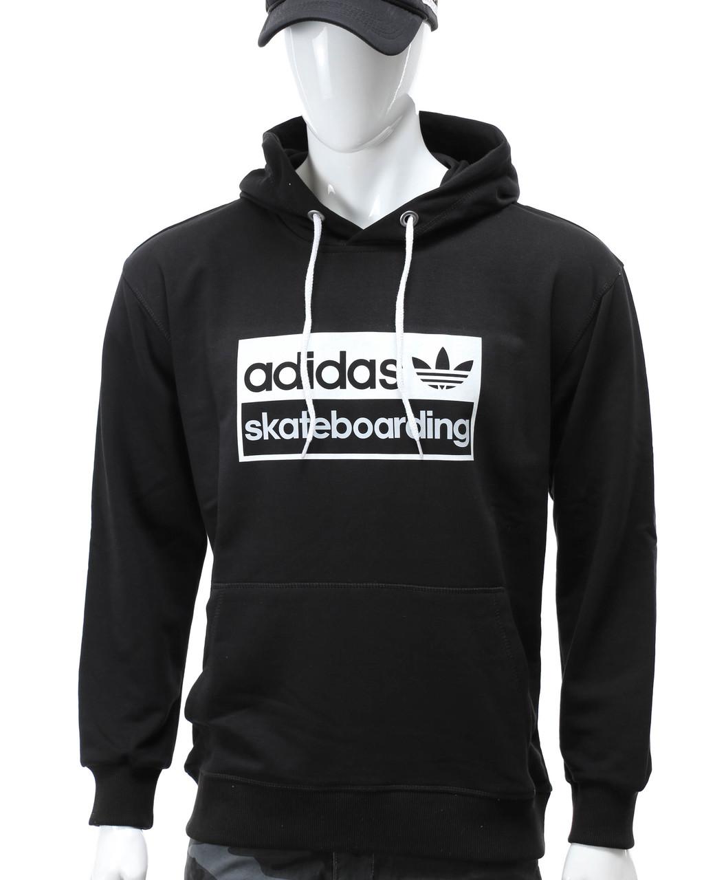 """Худи черный ADIDAS """"skateboarding"""" Т-2 BLK XL(Р) 20-472-201"""