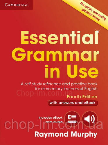 Essential Grammar in Use Fourth Edition Book with Answers and eBook / грамматика с ответами и кодом