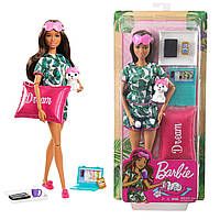 Кукла Барби Релаксация с щенком Barbie Relaxation mattel