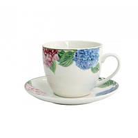 Чашка с блюдцем Astera Hortensie 250 мл A0530-S3-06