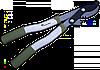 Сучкоріз з редуктором (550мм), KT-W1252