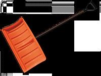 Лопата-плуг для уборки снега с металлическим черенком, KT-CXG811