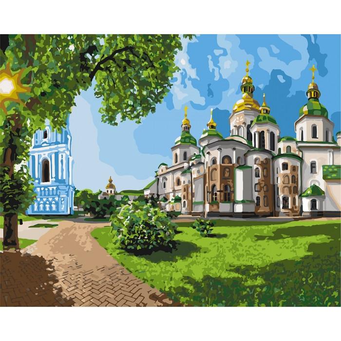Рисование по номерам София Киевская KH2831 Идейка 40 х 50 см