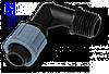 """Коліно сполучне крапельна стрічка - зовнішня різьба 3/4"""", DSTA02-34L"""