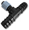 Трійник стрічка/ 2 х З'єднувач для трубки 20мм, DSTA04-20L