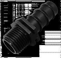 """Адаптер для трубки 16 мм с наружной резьбой 1/2"""", DSWA04-1216L"""