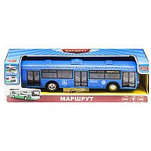 Автобус Маршрут свет звук синий Play Smart