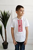 Вишита футболка для хлопчиків  DXL-02