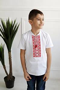 Вишита футболка для хлопчиків