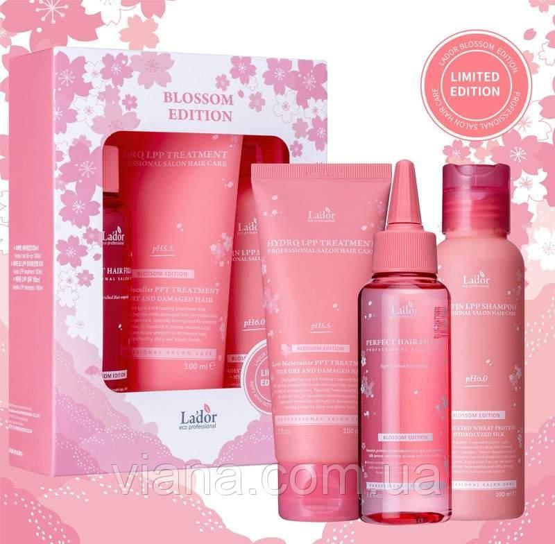 Лимитированный набор средств для волос Lador Blossom Edition