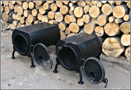 Печь дровяная (эконом) ПД-60 (6,5 кВт)