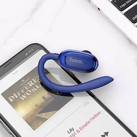 Гарнитура Bluetooth Hoco E26 Plus Синий