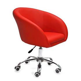 Кресло на колесах Мурат К Красный (СДМ мебель-ТМ)
