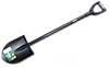 Лопата заокруглена з металевим держаком, KT-W2213