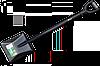 Лопата з металевим держаком, KT-W2211