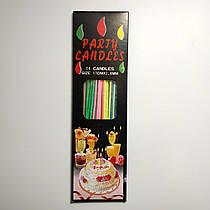 Свечи для торта SoFun party candles тортовые 18 шт
