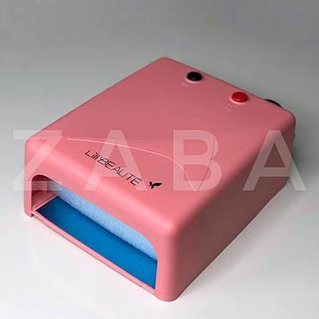 Уф-лампа Lilly Beaute-mini 36 ватт, розовая