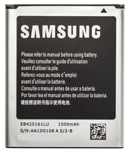 Аккумулятор для Samsung EB425161LU 1500 mAh для S7262/S7272/G313/S7562/S7270/S7390/i8160/i8190