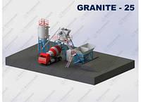 Мобильный бетонный завод «ГРАНИТ-25»