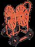 "Тележка для поливочного шланга 3/4"" 90м MAXI CAR – на четырех колесах., AG411"