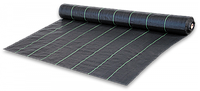 Агроткань против сорняков PP, черная UV, 70 гр/м? размер 0,6 х 100м, AT7006100