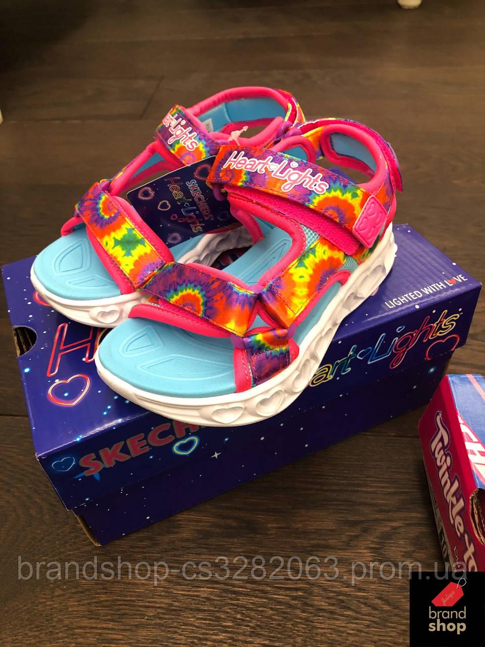 Skechers Heart Lights Sandal - Color groove для девочки