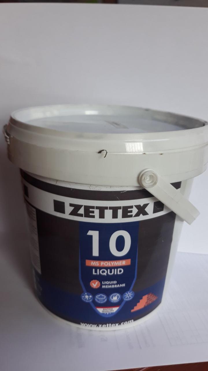 Клей Zettex МS Polymer 10 Liquid Черный, 1,л (300243)