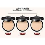 Пудра матирующая BioAqua MakeUp Professional Pressed Powder, разные оттенки, фото 6