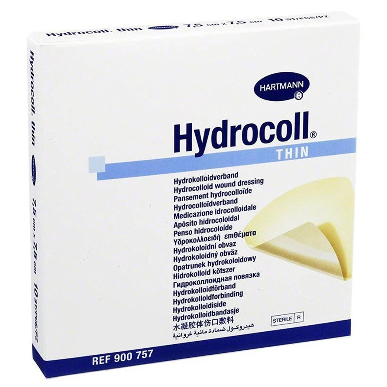 Hydrocoll Thin / Гидрокол  Тонкий 5x5см - гидроколоидная поглощающая повязка стерильная