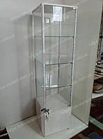 Витрина островная стеклянная, фото 1