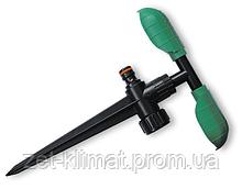 ECO LINE Ороситель вращающийся с двумя листочками, на колышке, ECO-PW3345