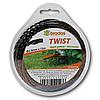 """Леска для триммера TWIST """"квадрат(перекрученная)"""" 2,4x15 блистер, ZTS2415B"""